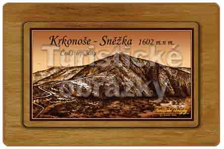 SNĚŽKA - nejvyšší hora ČR